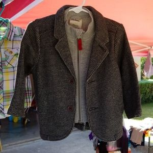 Boys jacket with cotton lining